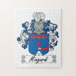 Escudo de la familia de Mingardi Rompecabezas Con Fotos