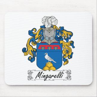 Escudo de la familia de Mingarelli Alfombrillas De Ratones