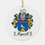 Escudo de la familia de Mingarelli Ornamento De Reyes Magos