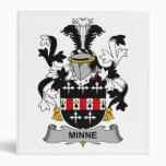 Escudo de la familia de Minne