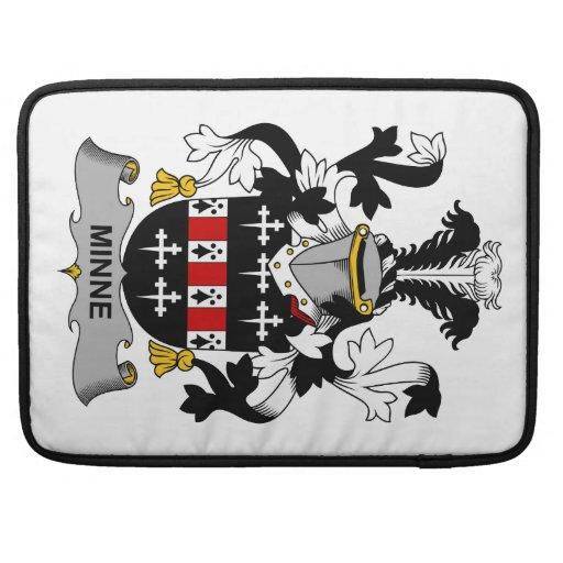 Escudo de la familia de Minne Funda Para Macbooks