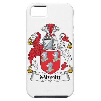 Escudo de la familia de Minnitt iPhone 5 Case-Mate Protectores