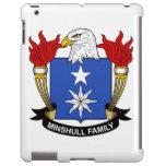 Escudo de la familia de Minshull