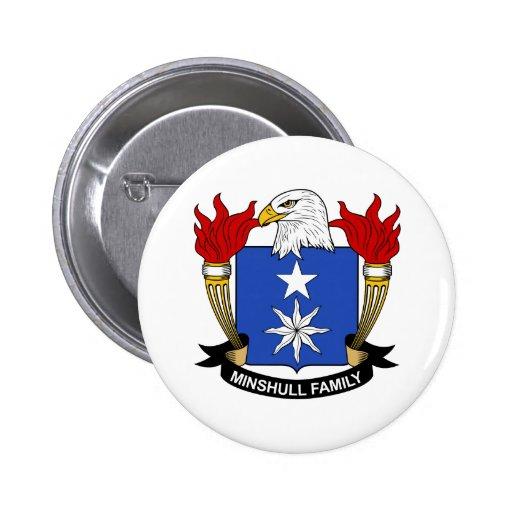 Escudo de la familia de Minshull Pins