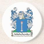 Escudo de la familia de Mishchenko Posavaso Para Bebida
