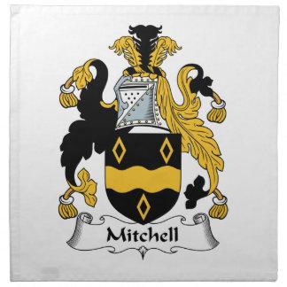 Escudo de la familia de Mitchell Servilletas De Papel