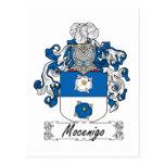 Escudo de la familia de Mocenigo Tarjeta Postal