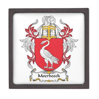 Escudo de la familia de Moerbeeck Cajas De Joyas De Calidad