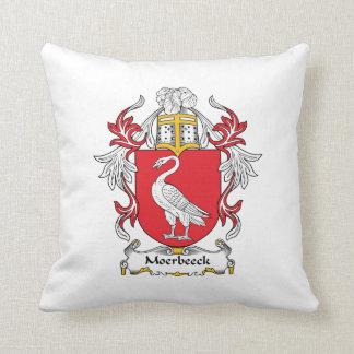 Escudo de la familia de Moerbeeck Cojines