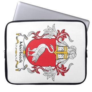 Escudo de la familia de Moerbeeck Fundas Ordendadores