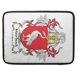 Escudo de la familia de Moerbeeck Funda Macbook Pro