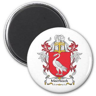Escudo de la familia de Moerbeeck Imán