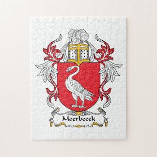 Escudo de la familia de Moerbeeck Rompecabezas