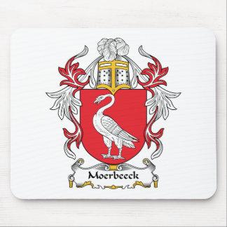 Escudo de la familia de Moerbeeck Tapete De Ratones