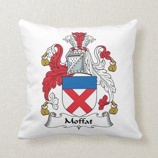 Escudo de la familia de Moffat Cojin