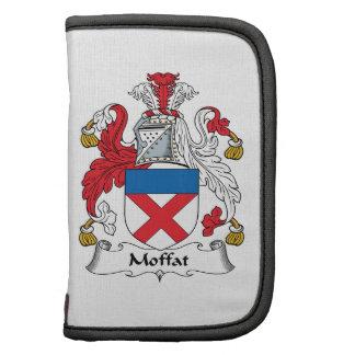 Escudo de la familia de Moffat Organizadores