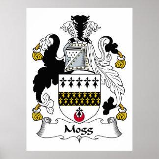 Escudo de la familia de Mogg Posters