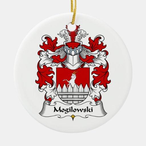 Escudo de la familia de Mogilowski Ornamentos Para Reyes Magos
