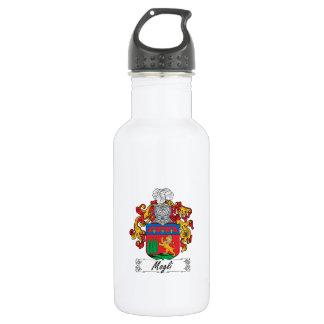 Escudo de la familia de Mogli Botella De Agua De Acero Inoxidable
