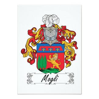 """Escudo de la familia de Mogli Invitación 5"""" X 7"""""""