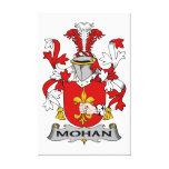Escudo de la familia de Mohan Impresiones En Lona Estiradas