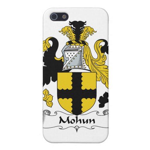 Escudo de la familia de Mohun iPhone 5 Cárcasa
