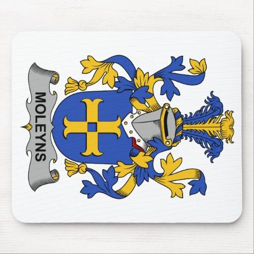 Escudo de la familia de Moleyns Alfombrillas De Raton