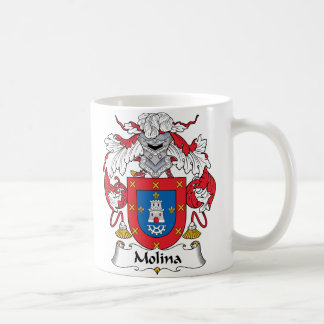 Escudo de la familia de Molina Taza Clásica