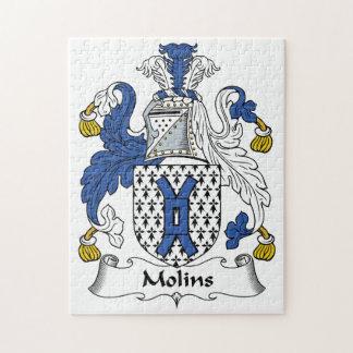 Escudo de la familia de Molins Rompecabezas