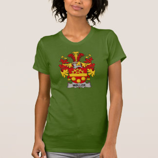 Escudo de la familia de Moller Camiseta