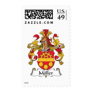 Escudo de la familia de Moller Sellos