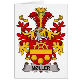 Escudo de la familia de Moller Tarjeta