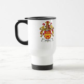 Escudo de la familia de Moller Taza De Café