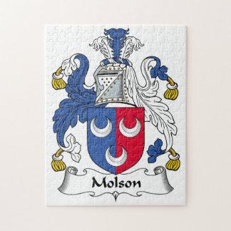 Escudo de la familia de Molson Puzzles Con Fotos