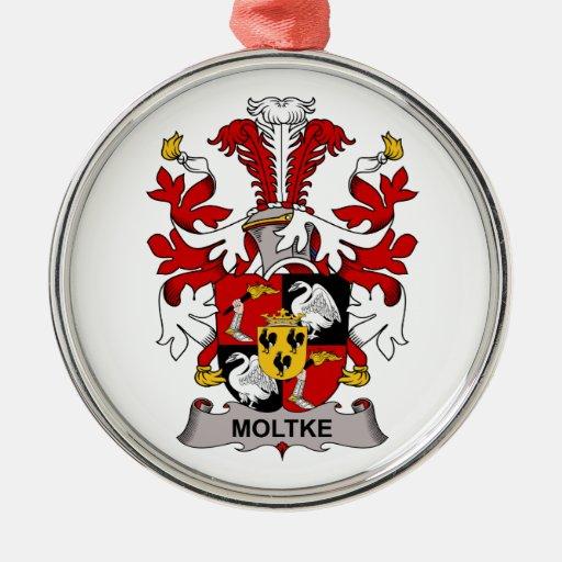 Escudo de la familia de Moltke Ornamente De Reyes