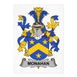 Escudo de la familia de Monahan Invitación Personalizada