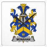 Escudo de la familia de Monahan Relojes