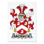 Escudo de la familia de Monck Comunicados Personales