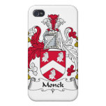 Escudo de la familia de Monck iPhone 4/4S Carcasas