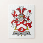 Escudo de la familia de Monck Rompecabezas