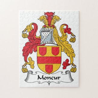 Escudo de la familia de Moncur Rompecabeza