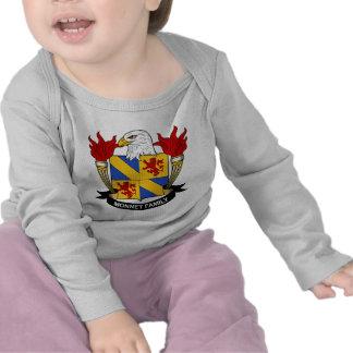 Escudo de la familia de Monnet Camiseta