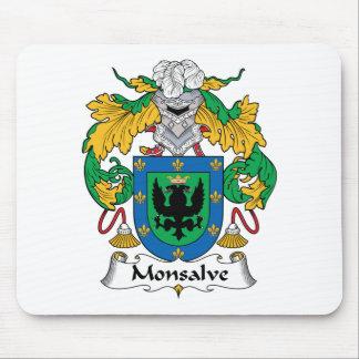 Escudo de la familia de Monsalve Tapete De Raton