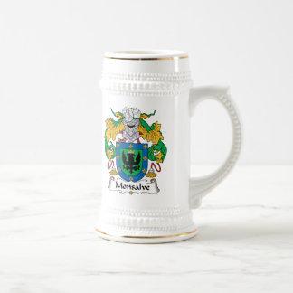 Escudo de la familia de Monsalve Tazas De Café