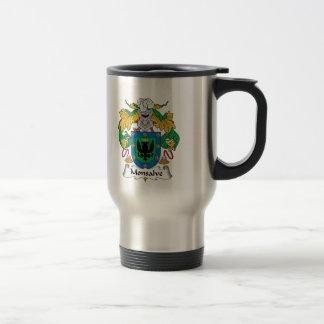 Escudo de la familia de Monsalve Taza De Café
