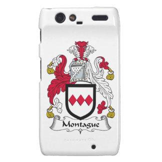 Escudo de la familia de Montague Motorola Droid RAZR Carcasas