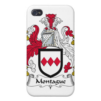 Escudo de la familia de Montague iPhone 4 Protectores
