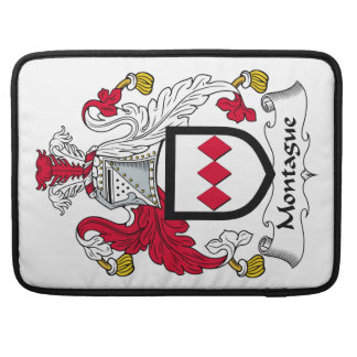 Escudo de la familia de Montague Funda Macbook Pro