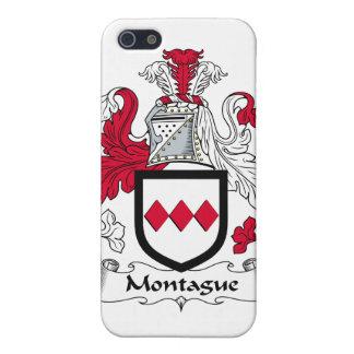 Escudo de la familia de Montague iPhone 5 Cárcasas