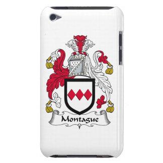 Escudo de la familia de Montague iPod Touch Fundas